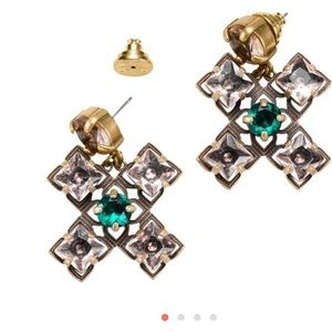 Tory Burch crystal drop earrings